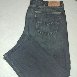 501 Levis button fly mens jeans sz 44WX27L